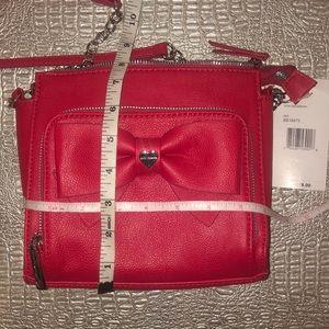 Betsey Johnson Bags - Betsey Johnson Red Crossbody